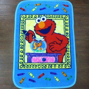 "Vintage Elmo's World Fleece Blanket 45"" x 30"""